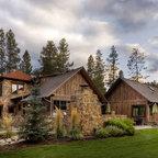 Timber Frame Cottage Rustic Exterior Salt Lake City