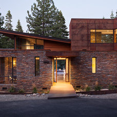 Contemporary Exterior by Ward-Young Architecture & Planning - Truckee, CA