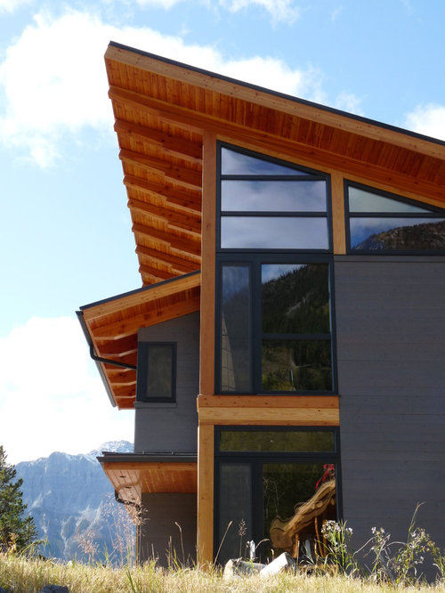 Exterior Rafter Tails : Exposed wood corbel rafter tails home design ideas