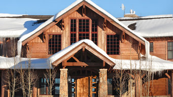 Mountain Rustic with Log Accents