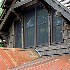 Traditional Exterior by Appalachian Antique Hardwoods