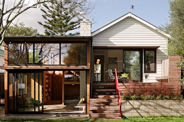 Contemporary Exterior by Megan Edwards Architects