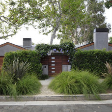 Contemporary Exterior by MTLA- Mark Tessier Landscape Architecture