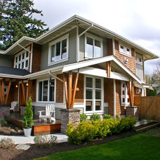 Craftsman Exterior by Sellentin True Design Build