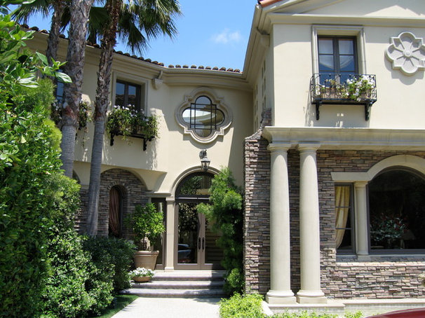 Traditional Exterior by Joani Stewart-Georgi - Montana Ave. Interiors