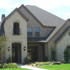 Traditional Exterior by Sterling Brook Custom Homes