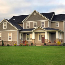 Traditional Exterior by Craftsman Construction