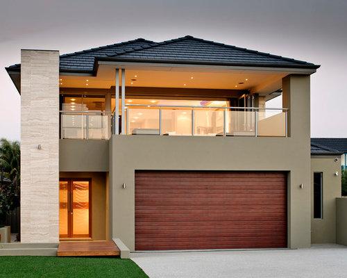 Ideas para fachadas dise os de fachadas contempor neas - Tejado a cuatro aguas ...