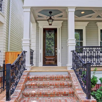 Multiple Houston Heights New Orleans Style Homes