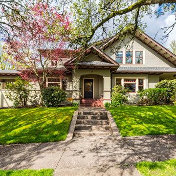 Multiple Renovations of Landmark Home