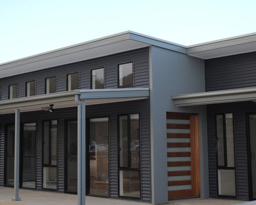 This Is An Example Of A Contemporary Exterior In Adelaide.