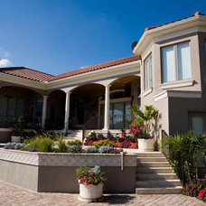 Mediterranean Exterior by Murray Homes