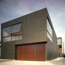 Contemporary Exterior by VMZINC-US