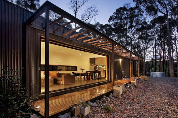 Contemporary Exterior by Thermeco