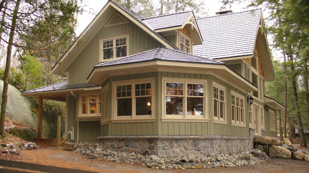 Traditional Exterior by Northern Custom Building