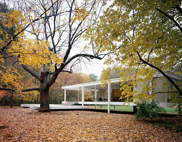 Architekturikonen Das Edith Farnsworth House Von Mies
