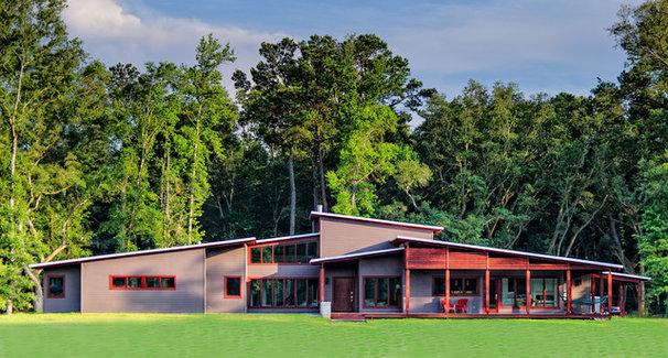 Contemporary Exterior My earthy, contemporary home