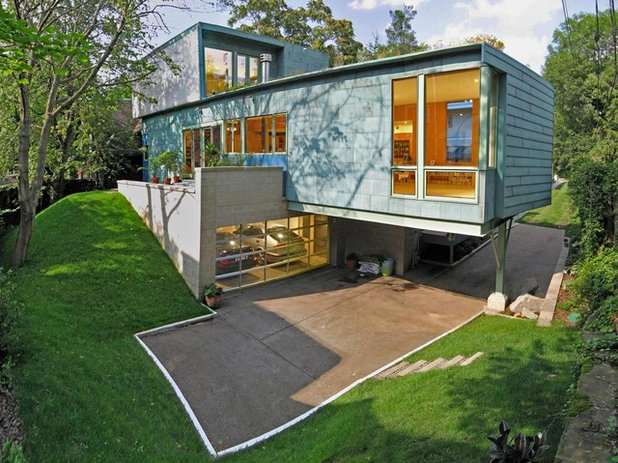 Contemporary Exterior by FISHER ARCHitecture