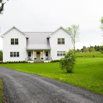 My Houzz: A Prefab Modern Farmhouse Rises in Vermont