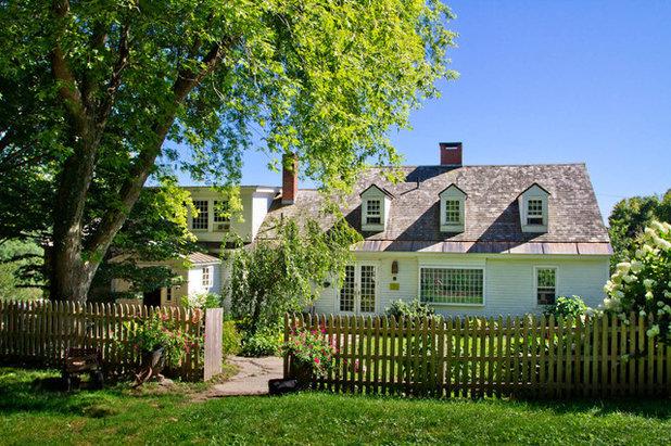 Farmhouse Exterior by Rikki Snyder