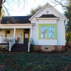 Farmhouse Exterior by Corynne Pless