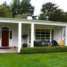 Traditional Exterior by Shannon Malone