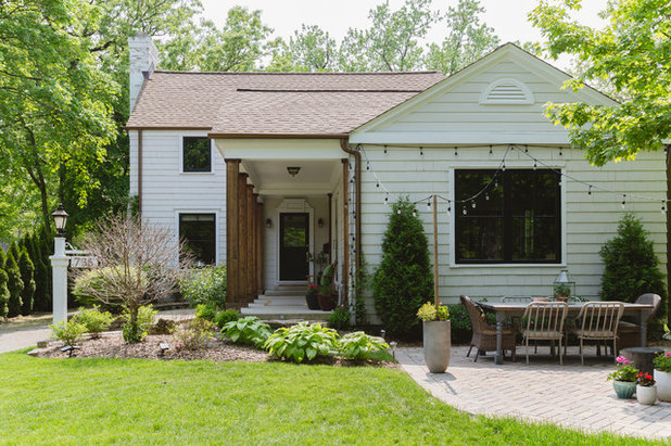 Farmhouse Exterior by Rachel Loewen Photography