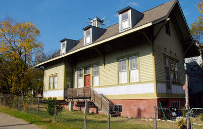 My Houzz: From Train Depot to Family Home in Texas