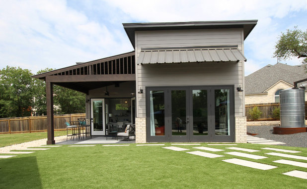 Contemporary Exterior by Kristin Laing