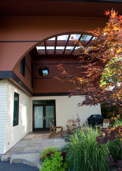 Contemporary Exterior by Mary Prince Photography