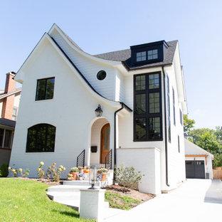 My Houzz: Modernized Tudor-Inspired Family Home in Chicago