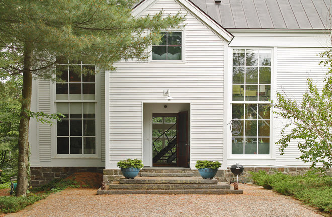 Transitional Exterior by Laura Garner