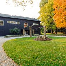 Farmhouse Exterior by Franklin & Associates - Design/Build