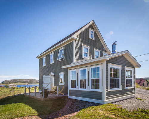 Saltbox house ideas pictures remodel and decor for Home plans newfoundland