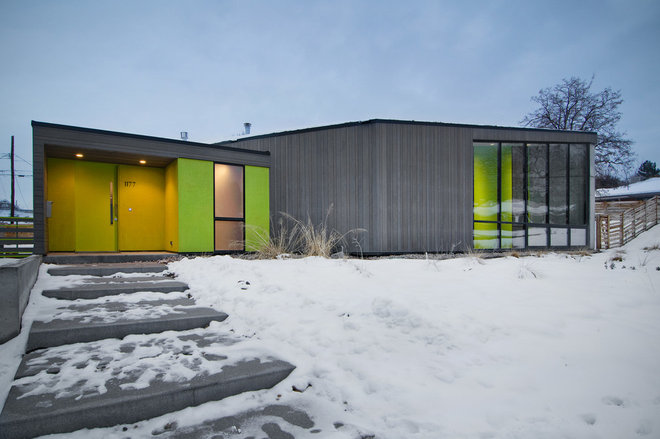 Contemporary Exterior by Lucy Call