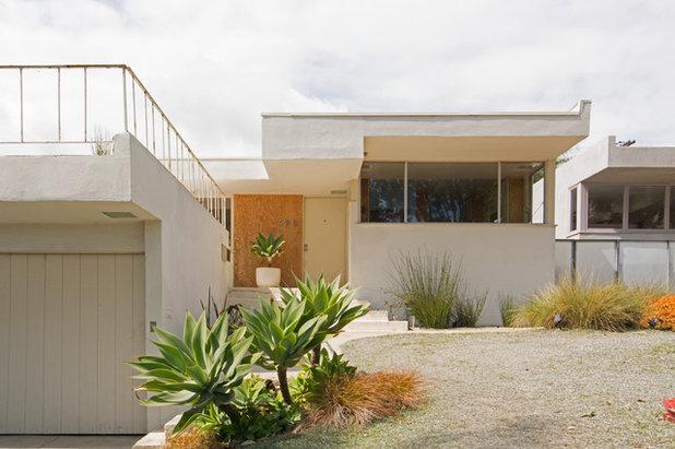 Midcentury Exterior by Carolyn Reyes