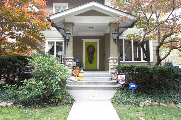 Traditional Exterior by Jessica Cain