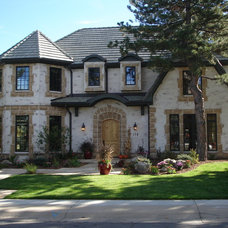 Traditional Exterior by BrickStone Inc
