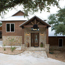 Traditional Exterior by Anderson Fine Homes