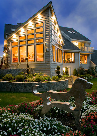 Contemporary Exterior by G. M. Roth Design Remodeling, Inc.