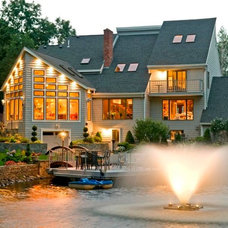Contemporary Exterior by G. M. Roth Design Remodeling, Inc