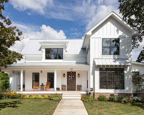 Farmhouse two story exterior design ideas pictures for 2 story exterior design
