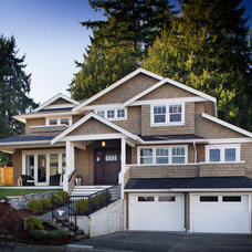 Traditional Exterior by Richardson Homes Ltd