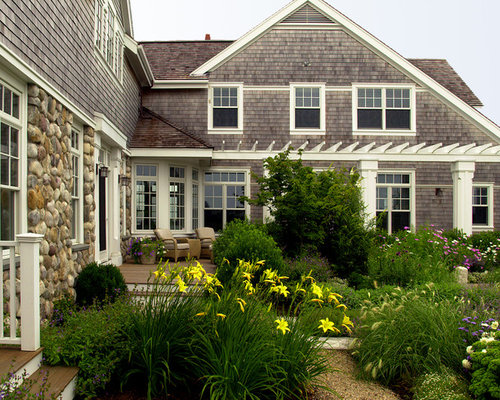 White cedar shingle home design ideas pictures remodel for Nantucket shingles