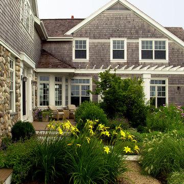 Nantucket Residence Exterior side garden