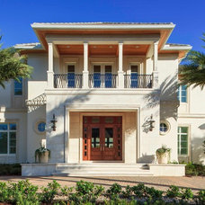 Traditional Exterior by Borelli Construction of Naples Inc.