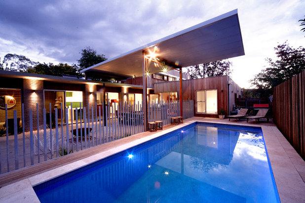 Contemporary Exterior by Adam Hobill : Design