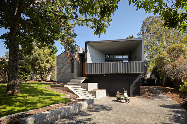 Contemporary Exterior by Michael Downes - UA Creative