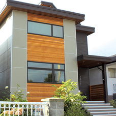 Modern Exterior by One SEED Architecture + Interiors
