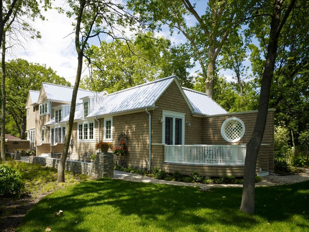 Traditional Exterior by Stuart Cohen & Julie Hacker Architects LLC